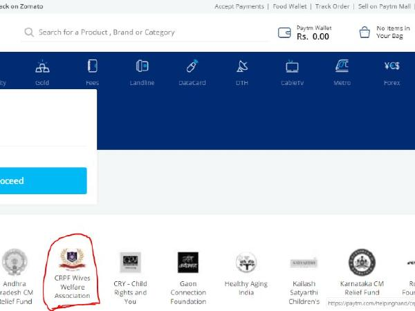 Paytm collaborates with CRPF Wives Association for quick donations