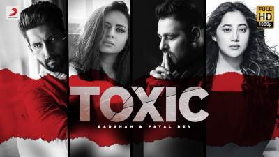 badshah toxic song music video lyrics