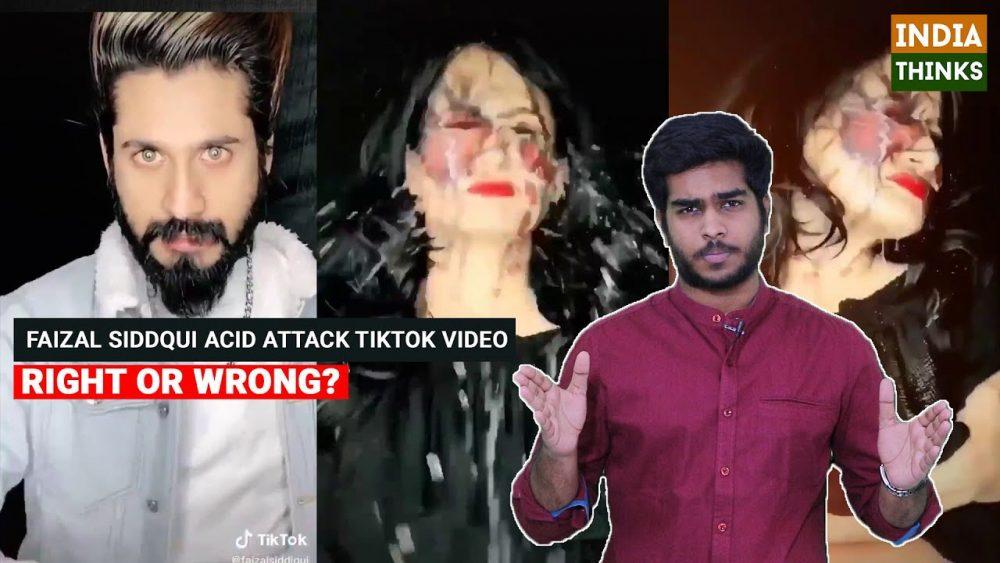 Faizal Siddiqui's TikTok account banned for 'glorifying' acid attack