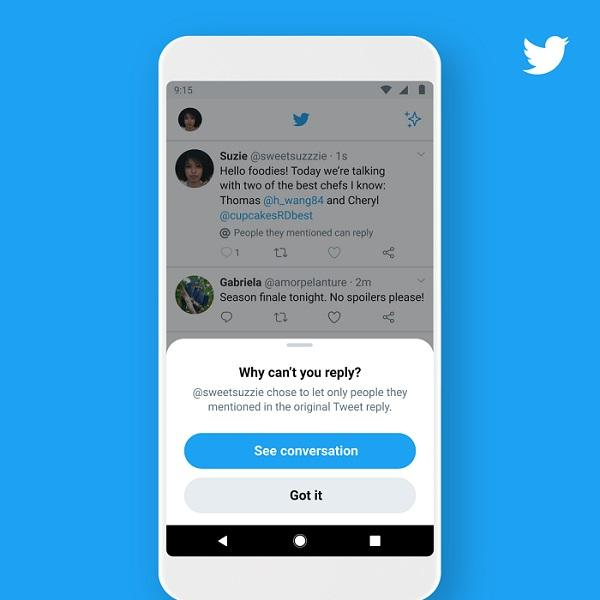 Twitter Feature: How To Limit/Activate Who Can Reply To Your Tweets